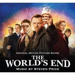 The World's End Soundtrack (Steven Price) - CD cover
