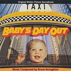 Baby's Day Out / The Rescue サウンドトラック (Bruce Broughton) - CDカバー