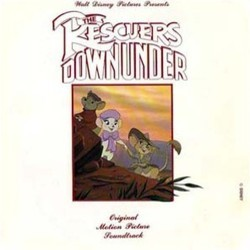 The Rescuers Down Under Soundtrack (Bruce Broughton) - CD-Cover
