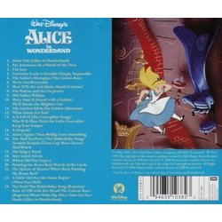 Alice in Wonderland Soundtrack (Oliver Wallace) - CD Trasero