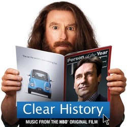Clear History Soundtrack (Ludovic Bource) - CD cover