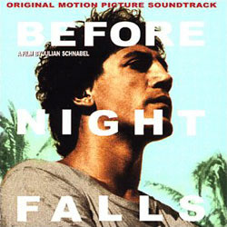 Before Night Falls Soundtrack (Various Artists, Carter Burwell) - Car�tula