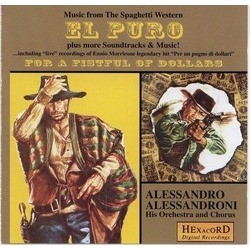 Music from the Spaghetti Western El Puro Soundtrack (Alessandro Alessandroni, Edda dell'Orso) - CD cover