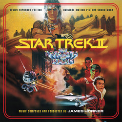 Star Trek II : The Wrath of Khan Soundtrack (James Horner) - Car�tula