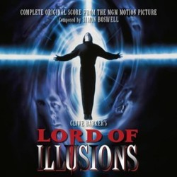 Lord of Illusions Soundtrack (Simon Boswell) - Carátula