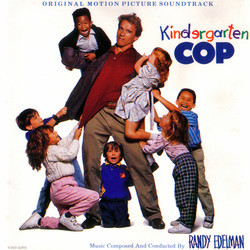 Kindergarten Cop Soundtrack (Randy Edelman) - CD-Cover