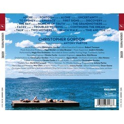 Adore Soundtrack (Christopher Gordon, Antony Partos) - CD Back cover