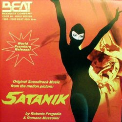Satanik Soundtrack (Romano Mussolini, Roberto Pregadio) - CD cover