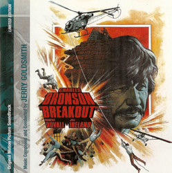 Breakout Soundtrack (Jerry Goldsmith) - CD cover