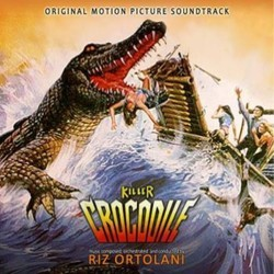 Killer Crocodile Soundtrack (Riz Ortolani) - CD cover