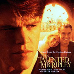 The Talented Mr. Ripley Soundtrack (Various Artists, Gabriel Yared) - CD cover