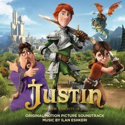 Justin and the Knights of Valour Soundtrack (Ilan Eshkeri) - CD cover