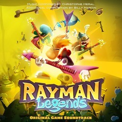 Rayman Legends Soundtrack (Christophe H�ral, Billy Martin) - CD cover
