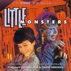 Little Monsters Bande Originale (David Newman) - Pochettes de CD