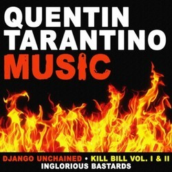 Quentin Tarantino Music Soundtrack (Various ) - CD cover