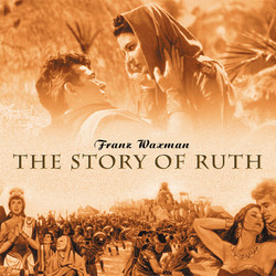 The Story of Ruth Soundtrack (Franz Waxman) - CD cover