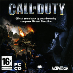 Call of Duty Soundtrack (Michael Giacchino) - CD cover
