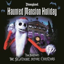 Haunted Mansion Holiday Soundtrack (Corey Burton) - CD cover
