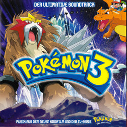 Pokémon 3 Soundtrack (Various Artists, Various Artists) - CD cover