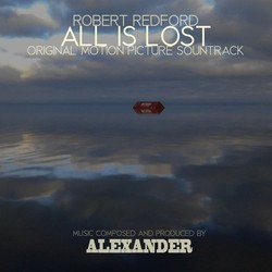 All is lost Soundtrack (Alexander Ebert) - CD cover
