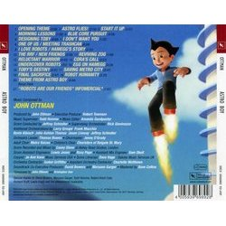 Astro Boy Soundtrack (John Ottman) - CD Achterzijde