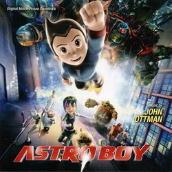 Astro Boy Soundtrack (John Ottman) - CD cover