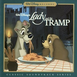 Lady and the Tramp Soundtrack (Oliver Wallace) - CD-Cover