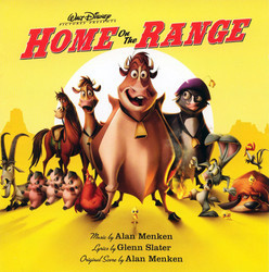 Home on the Range Soundtrack (Various Artists, Alan Menken, Glenn Slater) - CD cover