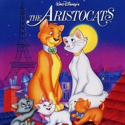 The AristoCats Soundtrack (George Bruns, Richard M. Sherman, Robert B. Sherman) - CD cover