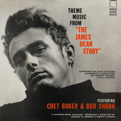Theme music from The James Dean Story サウンドトラック (Various Artists, Chet Baker, Leith Stevens) - CDカバー
