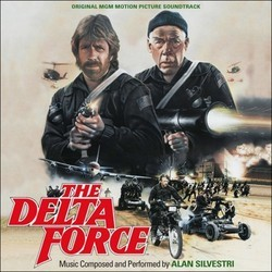 The Delta Force Trilha sonora (Alan Silvestri) - capa de CD