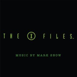 The X-Files: Volume Two Soundtrack (Mark Snow) - CD cover