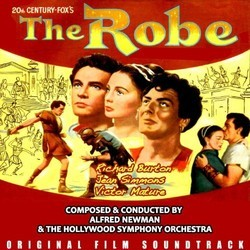 The Robe Soundtrack (Alfred Newman) - CD cover