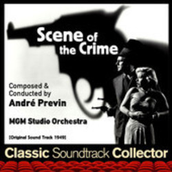 Scene of the Crime Soundtrack (André Previn) - CD cover