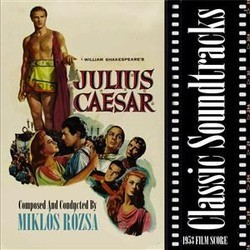 Julius Caesar Soundtrack (Mikl�s R�zsa) - CD cover