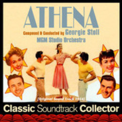 Athena Soundtrack  (Albert Sendrey, George Stoll, Robert Van Eps) - CD cover