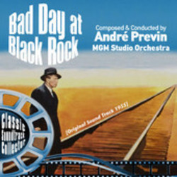 Bad Day at Black Rock Soundtrack (Andr� Previn) - CD cover