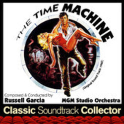 The Time Machine Soundtrack  (Russell Garcia) - CD cover