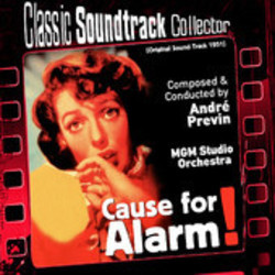 Cause for Alarm! Soundtrack (André Previn) - CD cover