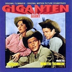 Giganten Soundtrack (Dimitri Tiomkin) - CD cover