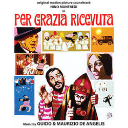 Per grazia ricevuta Soundtrack (Guido De Angelis) - CD cover