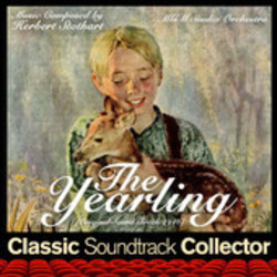 The Yearling Soundtrack  (Herbert Stothart) - CD cover