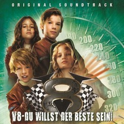 V8 - Du willst der Beste sein Soundtrack (Various Artists, Peter Horn, Andrej Melita) - CD cover