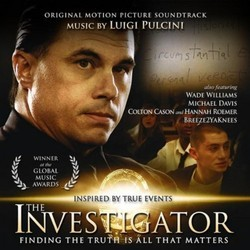 The Investigator Soundtrack (Luigi Pulcini) - CD cover