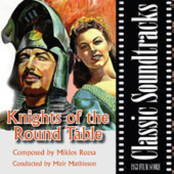 Knights of the Round Table Soundtrack  (Mikl�s R�zsa) - CD cover