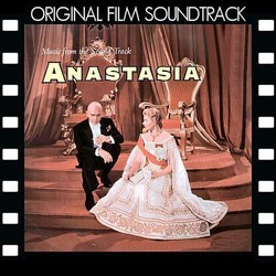 Anastasia Soundtrack (Alfred Newman) - CD cover