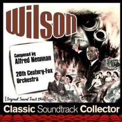 Wilson Soundtrack (Alfred Newman) - CD cover