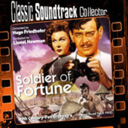 Soldier of Fortune Soundtrack (Hugo Friedhofer) - CD cover