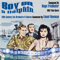 Boy on a Dolphin Soundtrack (Hugo Friedhofer) - CD cover