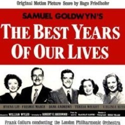 The Best Years of Our Lives Soundtrack (Hugo Friedhofer) - CD cover